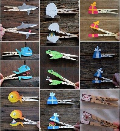 Creative Clothespin