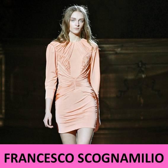 Francesco Scognamilio en la Pasarela Milano Otoño invierno 2012 / 2013