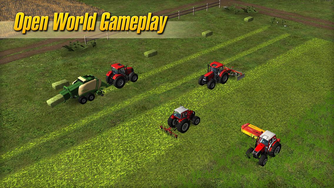 Farming Simulator 14 Android Apk Oyun resimi