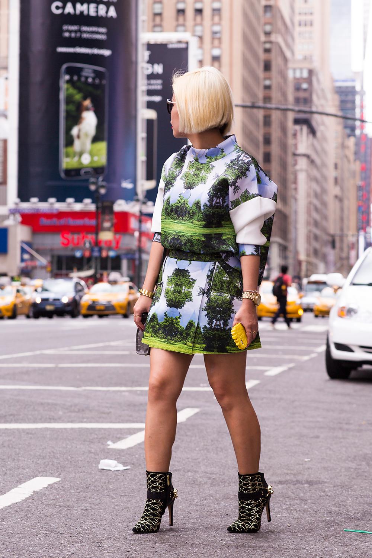 Crystal Phuong- New York Fashion Week 2015- Blogger streetstyle