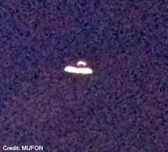 UFO Over Lakeland, Florida