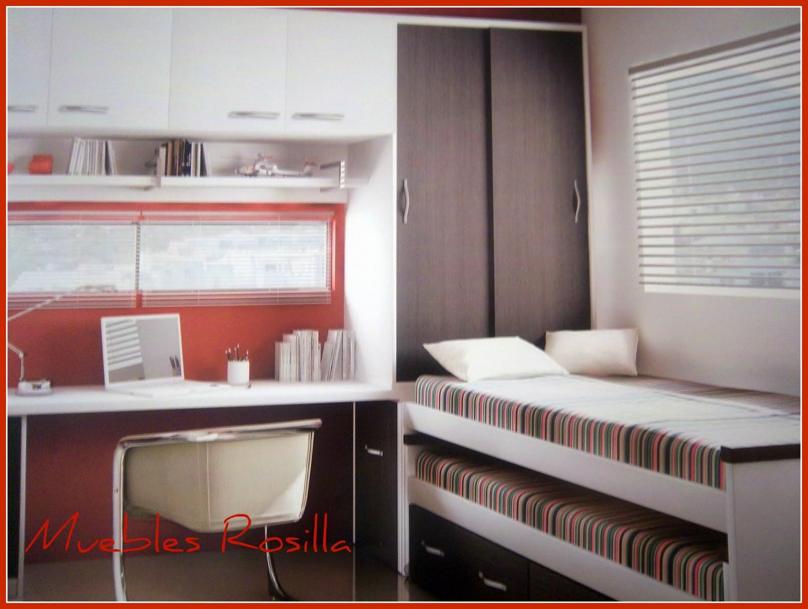 Muebles rosilla herv s dormitorios juveniles for Muebles hervas