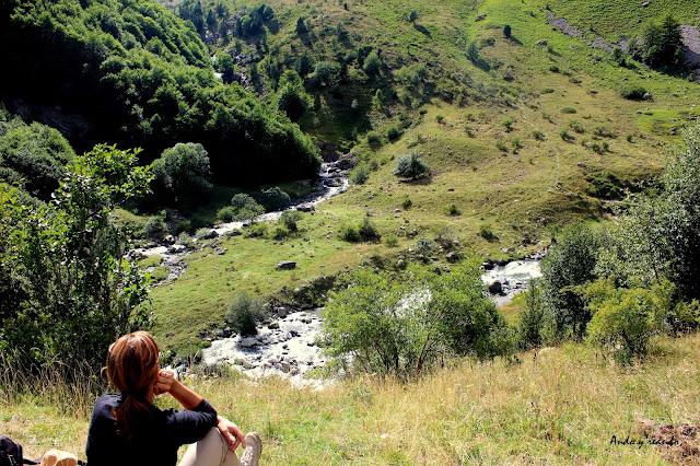 Cruce de los ríos Ara y Ordiso
