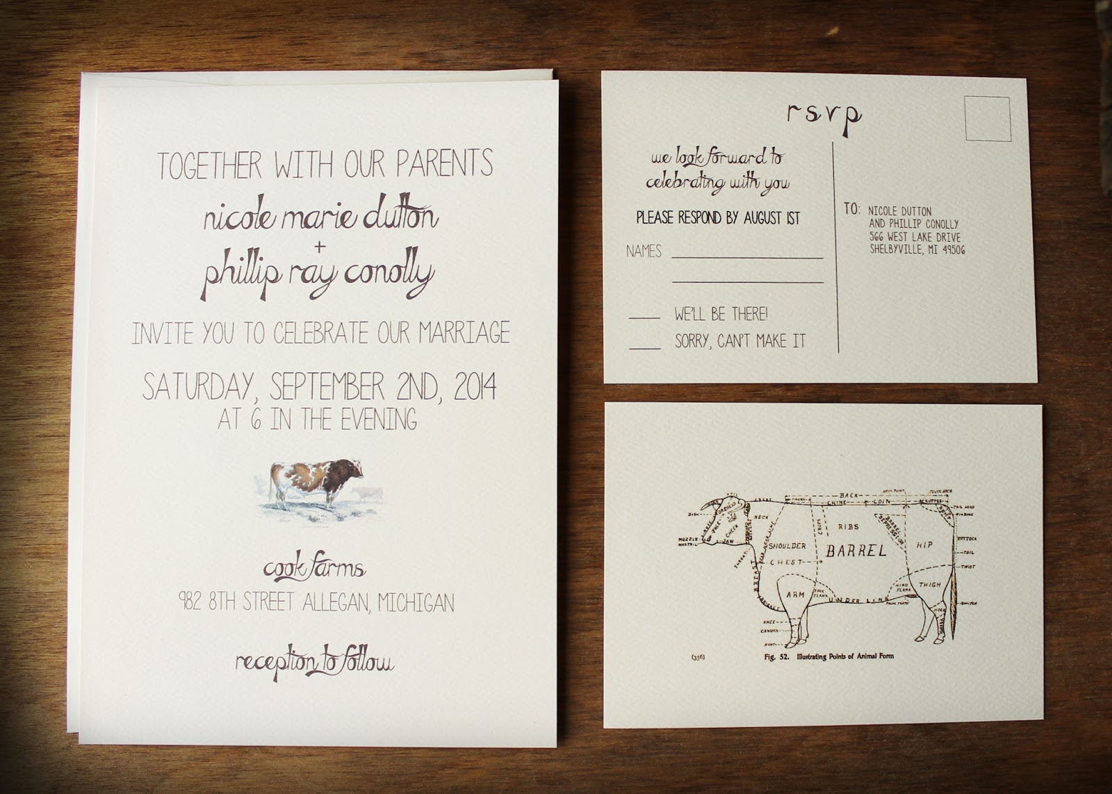 Farm Wedding Invitations for your inspiration to make invitation template look beautiful