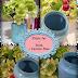 Pickle Jar + Paint = Custom Glass Vases!
