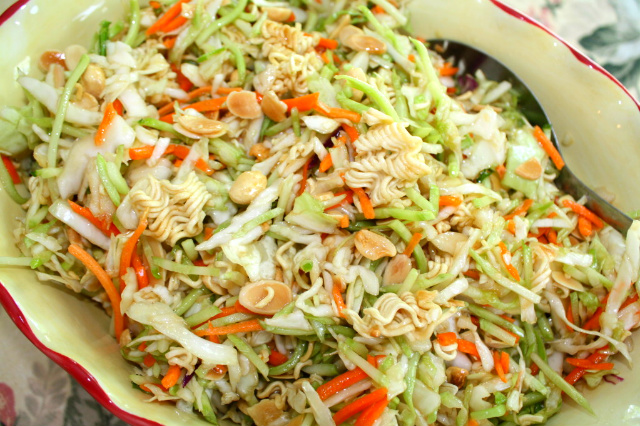 Oriental chicken salad recipes with ramen noodles