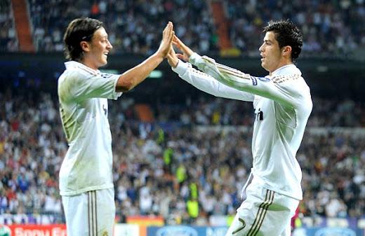 Cristiano Ronaldo dan Ozil