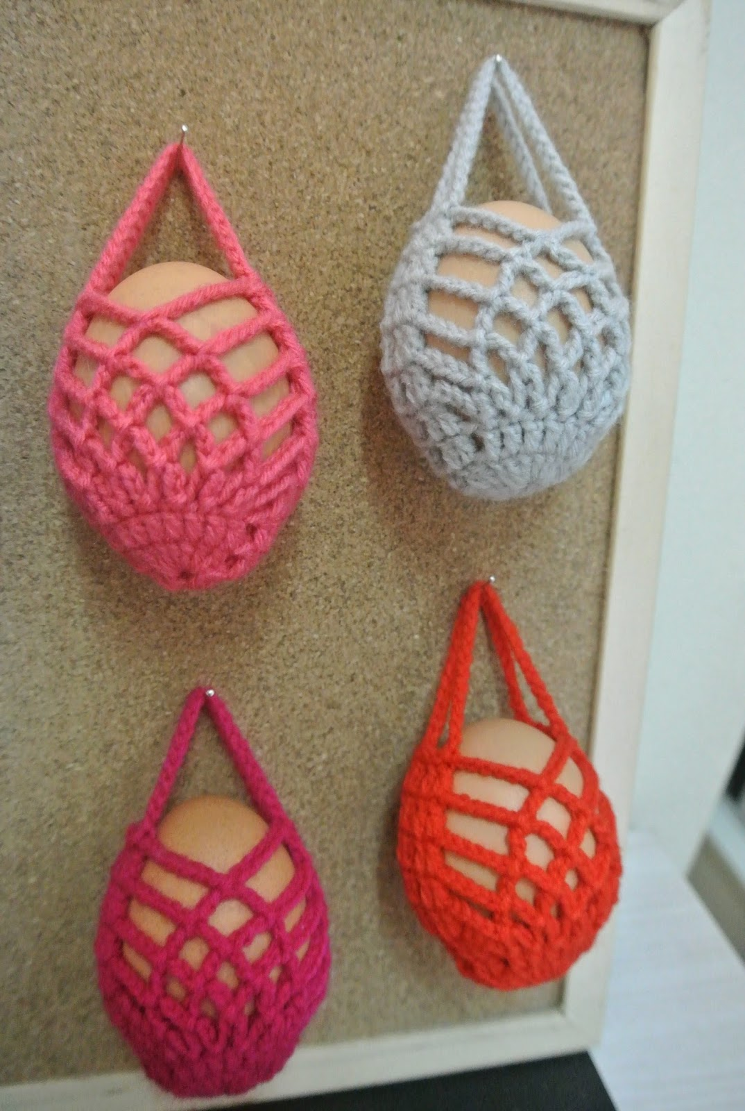 Fixation crochet egg cosy sarung telur for Crochet fixation miroir