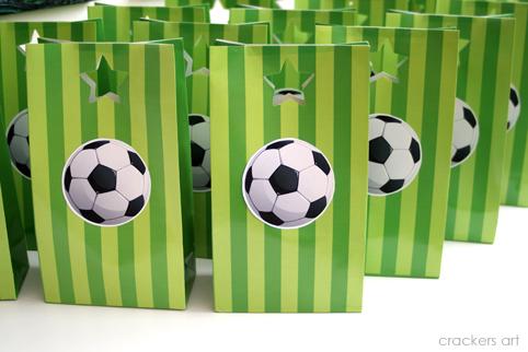 Сценарий дня рождения в стиле футбола 188