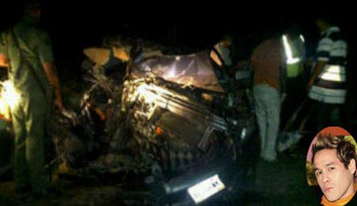 En un accidente vial ocurrido, la noche de este viernes, a las 10:00 ...