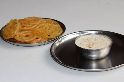 Jalebi Rabdi at Toni Da Dhaba