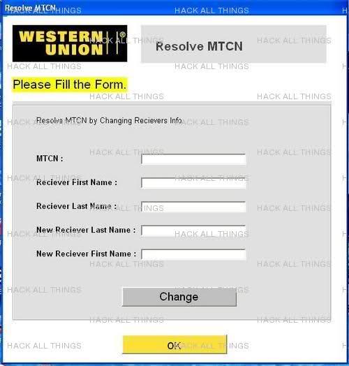 Western Union Hacking Bug