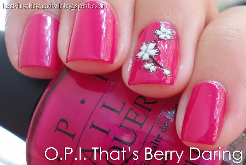 OPI That\'s Berry Daring, Free Shipping at Nail Polish Canada