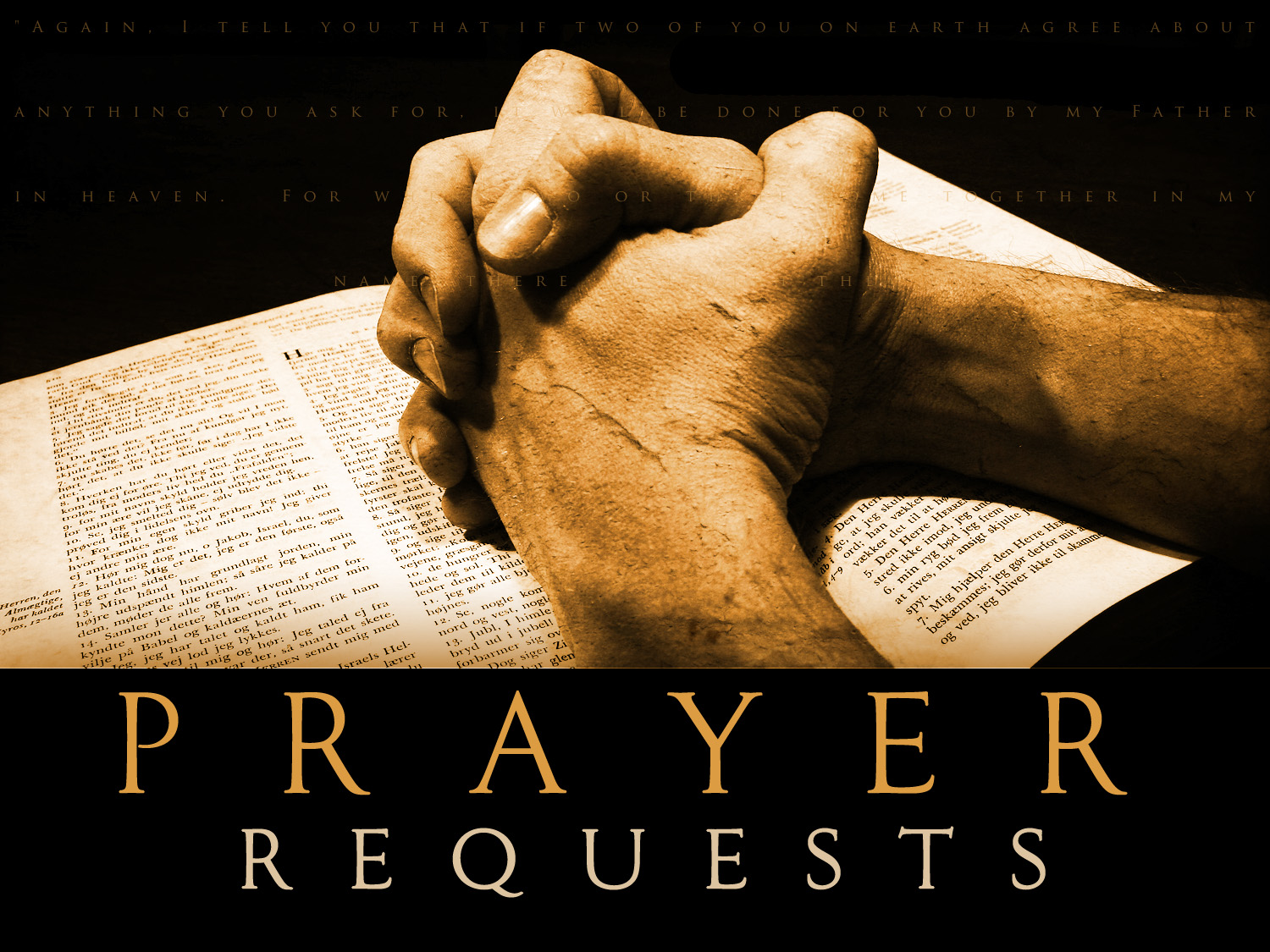 Please Pray for Craig BoydGroup Prayer Hands