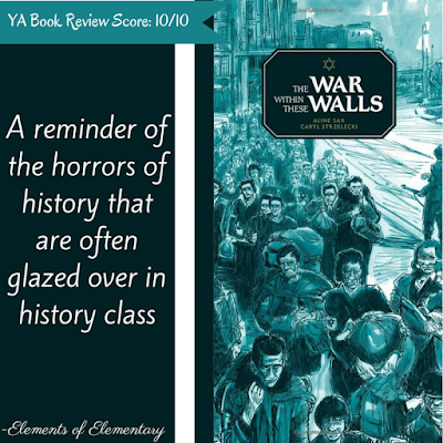 The War Within These Walls Book Review | Elements of Elementary