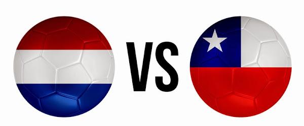 REPETICION SELECCIONES HOLANDA VS CHILE, Goles, Resultados, Estadisticas, Online