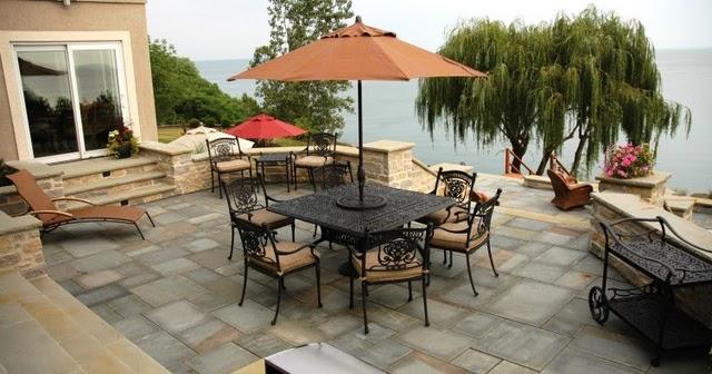 Dise o de patio exterior con vista relajante patios y - Patios exteriores ...