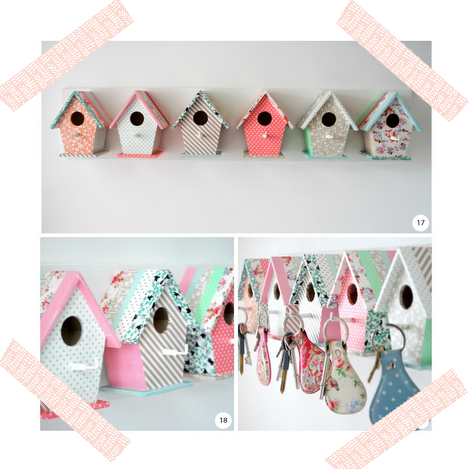 WASHI TAPE BIRD CAGE / CASITAS DE PÁJAROS DECORADAS CON WASHI TAPE