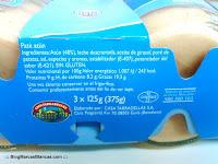 Ingredientes e información nutricional del Paté de atún Hacendado de Mercadona fabricado por Casa Tarradellas.