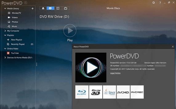 PowerDVD 17 Ultra Crack