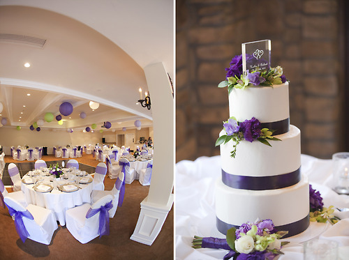 Elegant Purple Wedding Theme