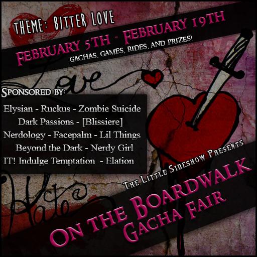 On The Boardwalk Gacha Fair - Bitter Love