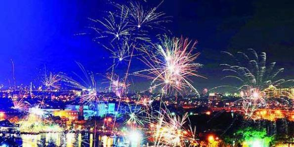 tahun baru surabaya