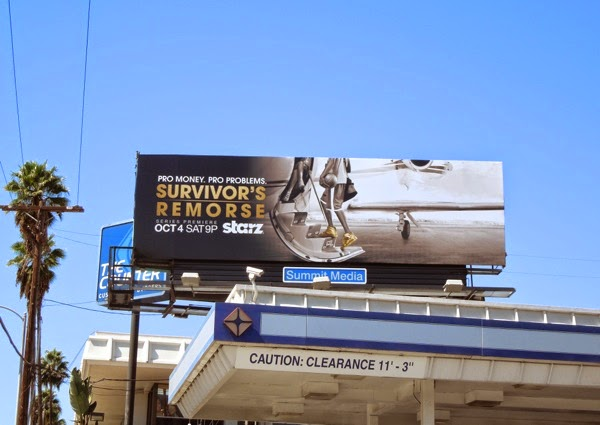 Survivor's Remorse season 1 billboard