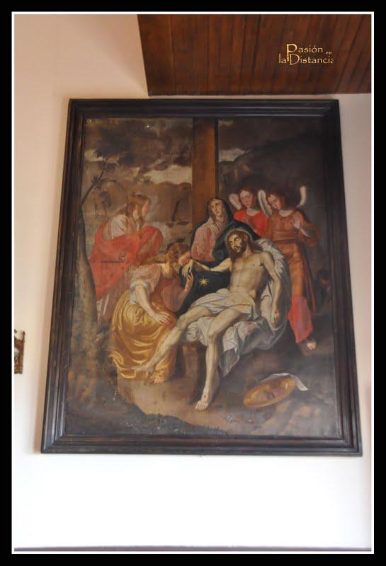 La ermita del calvario parroquia de san isidro la orotava tenerife pasi n en la distancia - Cuadros tenerife ...