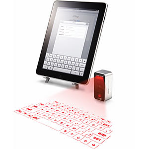 Laser virtual keyboard for iphone