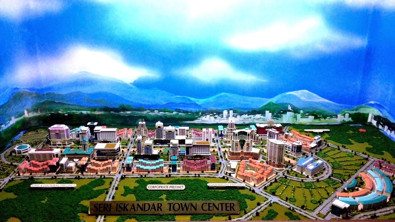 Terowong Sejarah Pasir Salak, Pusat Bandar Seri Iskandar