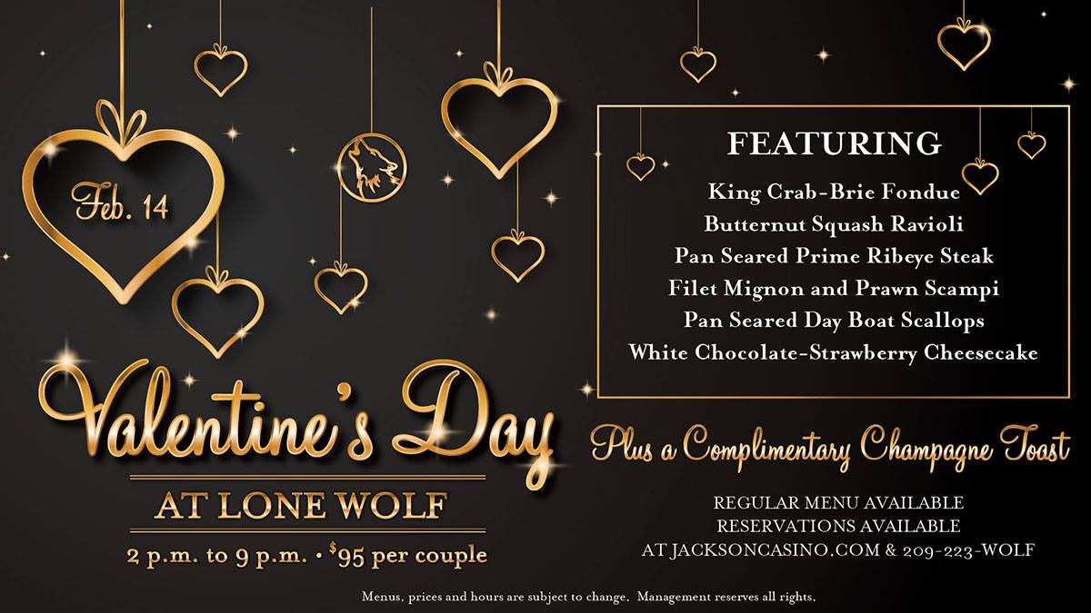 Valentine's Day at the Lone Wolf