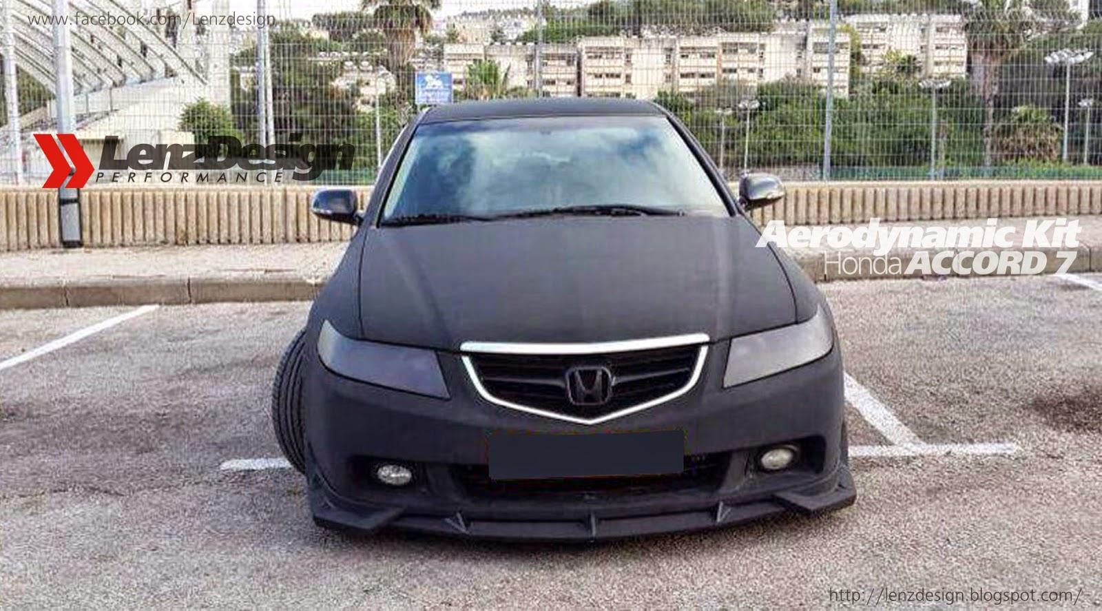 Honda accord 7 2002 2008 body kit tuning lenzdesign performance honda accord 7 body kit lenzdesign performance israel price us 800 00 ils 3 000