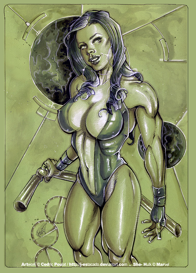 SHE-HULK II por J-Estacado