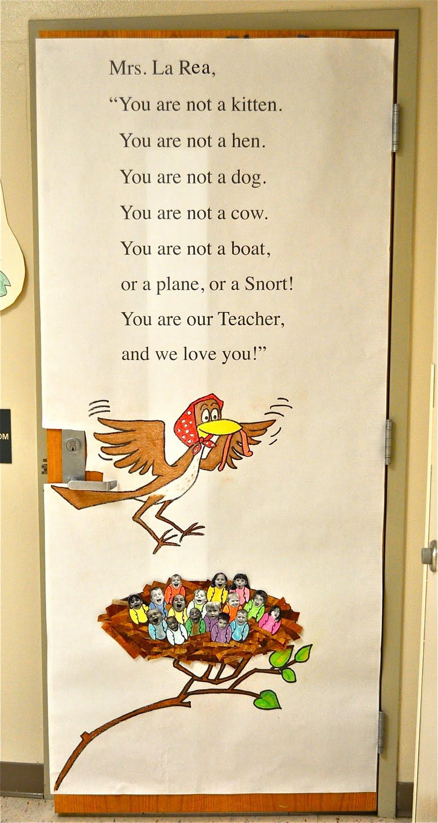Classroom Door Decoration Teacher Appreciation Week : Ewe hooo teacher appreciation week bulletin board door