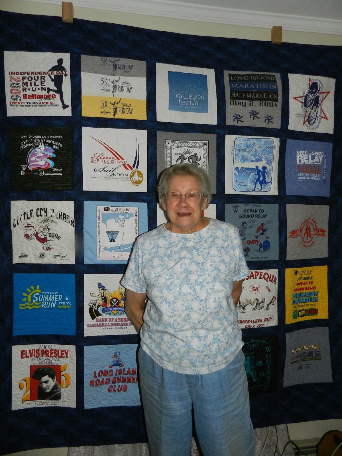 Dinah's Quilts and Embroidery: Running T-Shirt Quilt 2 : running t shirt quilt - Adamdwight.com