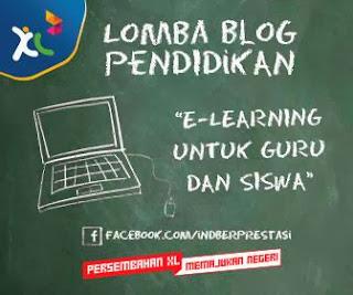 Lomba Blog E-Learning untuk guru dan siswa