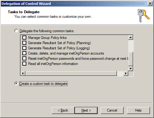 sharepoint replicate directory changes permission
