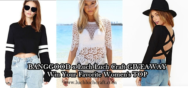 BANGGOOD GIVEAWAY : Win Your Favorite Woman's Top