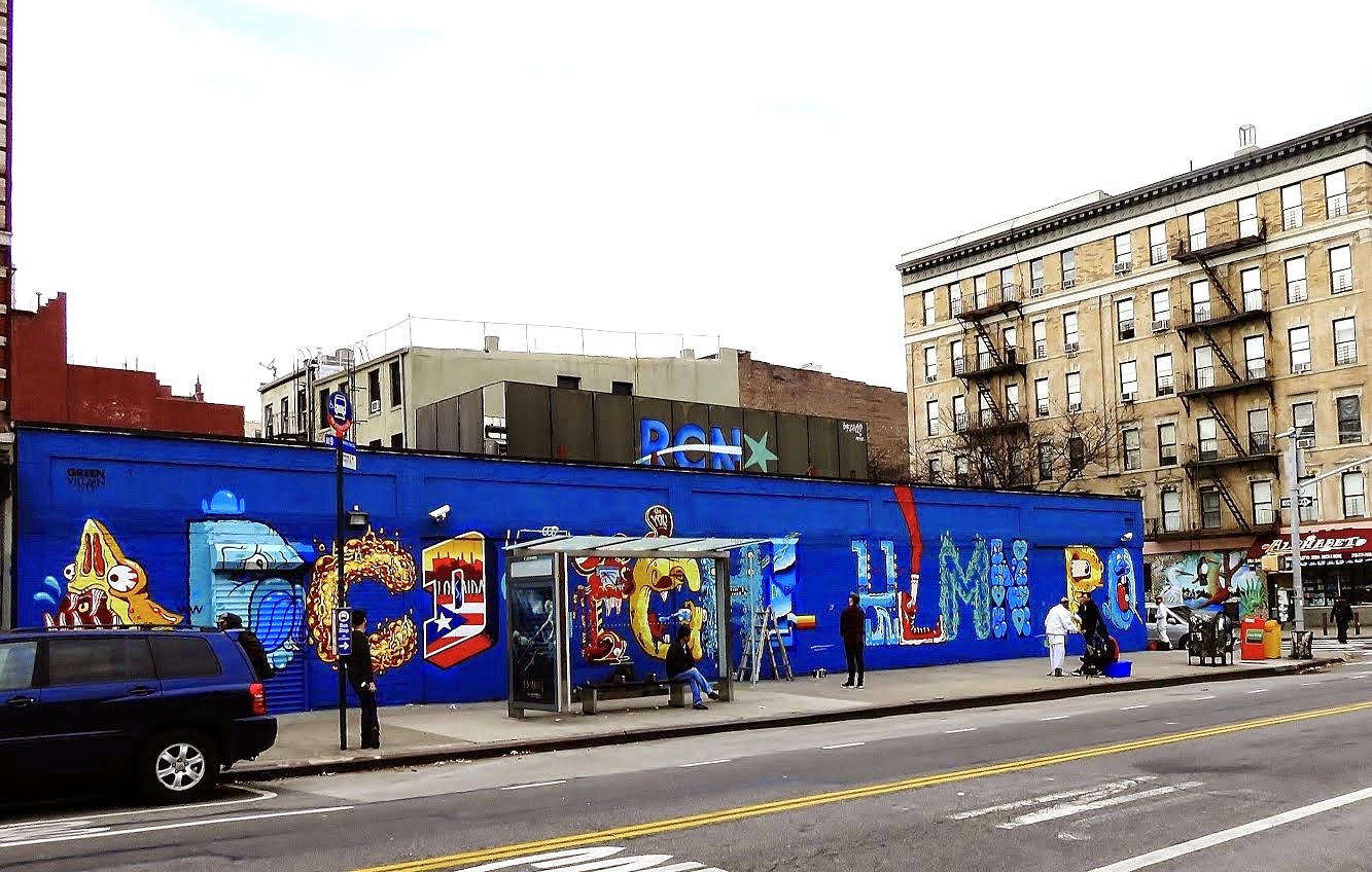 Does This Alphabet City Mural On Avenue C Represent The Community