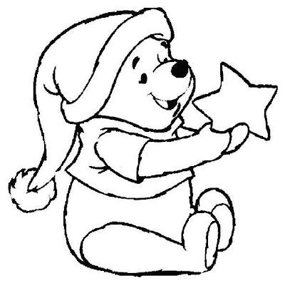 Winnie Pooh para colorear