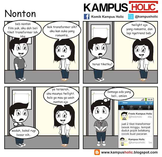 #067 Nonton film mahasiswa