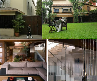 Amitabh House Photo on Amitabh Bachchan Home At Juhu Mumbai Photos   Bollywood Movies