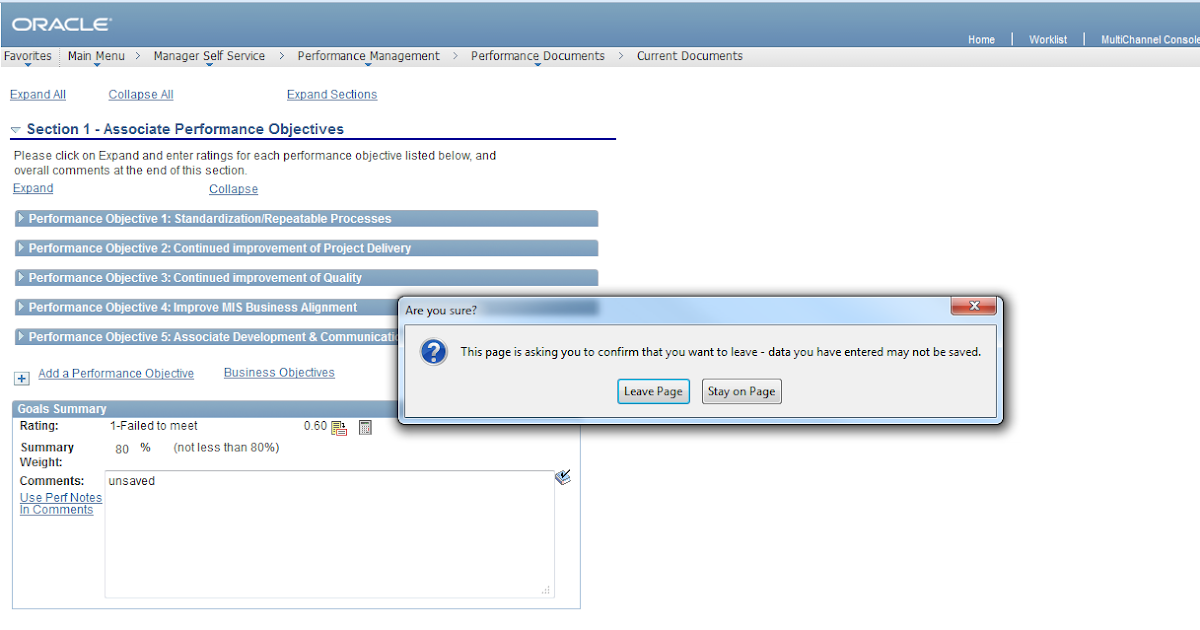 Peoplesoft development disabling the back button in for Window onbeforeunload