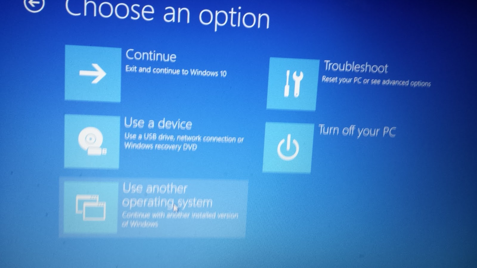 boot from a usb windows 10
