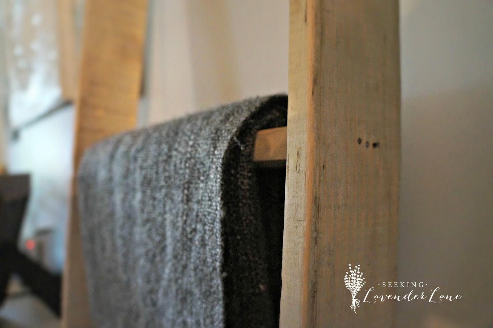 ASCP Dark Wax on Blanket Ladder