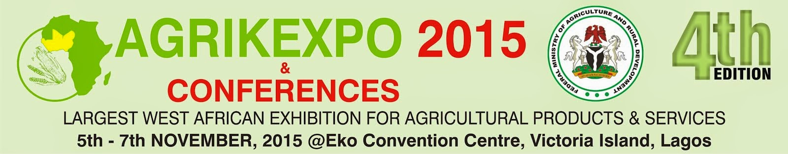 AGRIKEXPO CONFERENCES 2015