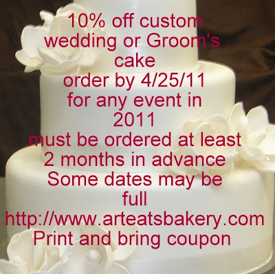 Cake discount coupon