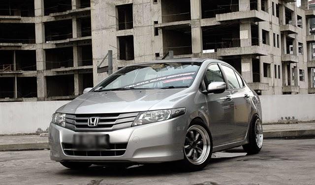 Modifikasi Mobil Honda City Elegan
