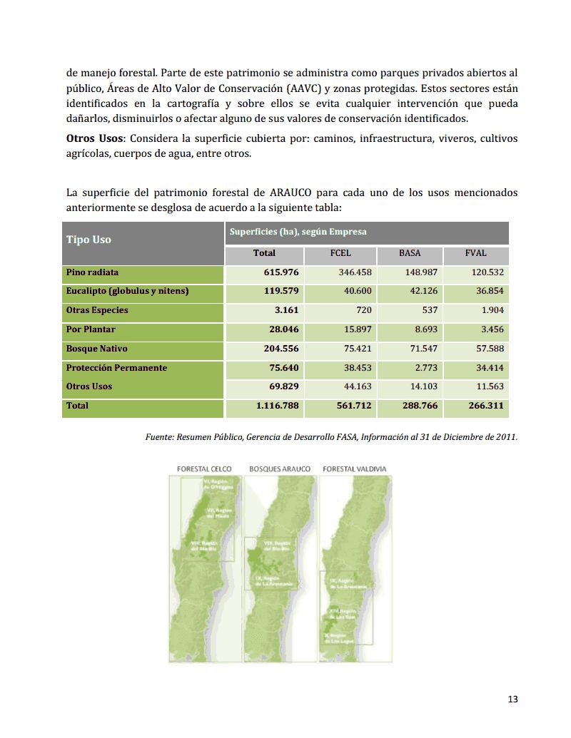 Wallmapu futa trawun aprueban emisi n del certificado de for Manejo de viveros forestales